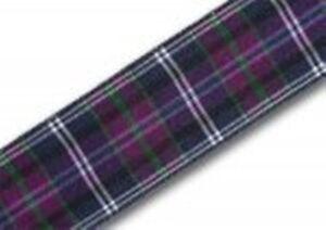 Pride of Bannockburn Tartan Ribbon ALTERNATIVE TO PRIDE OF SCOTLAND & ODDMENTS
