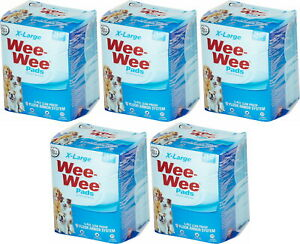Four Paws Wee Wee Pads, XL, 21 Count, 5 Pack
