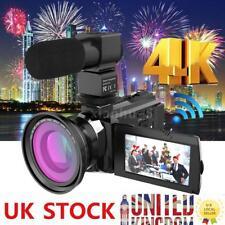 Andoer 4k WiFi HD 1080p 48mp 16x Zoom Digital Video Camera Camcorder DVR DV Mic