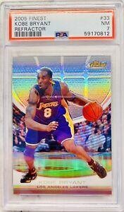 2005 Topps Finest Refractor Kobe Bryant #33 75/349 PSA 7 POP 1 Looks Amazing 🔥