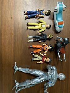 8 Piece Lot - DRAGON BALL Action Figure Lot -  IRWIN FUN B.S./S.T.A.