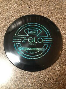 Discraft Z GLO RAPTOR Ledgestone 2021 Black 173-174g