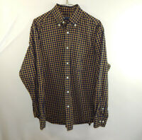 Nautica Button Down Long Sleeve Mens Casual Dress Shirt Size MEDIUM M