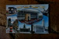 ELAND ROAD LEEDS POSTCARD CITIES WITH FAMOUS FOOTBALL GROUNDS SERIES #8
