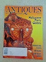Antiques & Collecting Magazine Oct 2010 Halloween Party Games Netsuke Ferroline