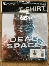 Genuine Dead Space 3 Official/Men White T Shirt Small 100% Cotton