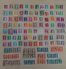 More details for gb used high value security machin definitive stamps on paper #c