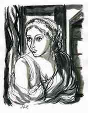 TITUS & BERENICE-Jacques Grange - 3 Grisaille-gravures 1947