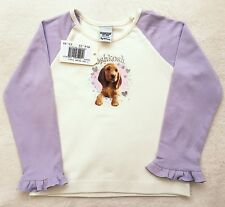 ••• ВNWT Oshkosh T-Shirts • Long Sleeve Dog Top • 100% Cotton • 3 Years