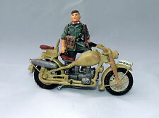 King & Country WSS007 - Motor Cycle and Dispatch Rider (Ultra Rare)