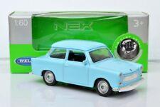 Flash transporte Trabant 601 verde verde 1:34-39 modelo welly caja nueva y original del coche