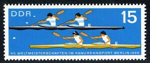 Germany DDR/GDR 852, Mint. Canoe World Championships, Berlin. Races, 1966