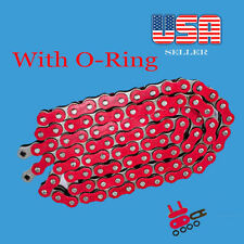 Chain 520 x 120 Red Color with O-ring Fit:Most Honda Motorcycle