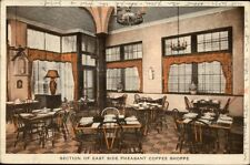 Providence RI East Side Pheasant Coffee Shoppe c1915 Postcard