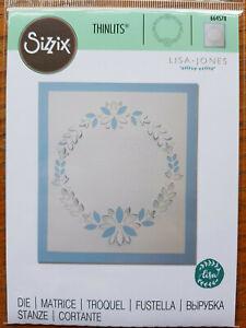 'Cut Out Wreath'  thin dies  RP £10 Sizzix # 664578