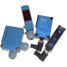 SICK WE260 optoelectric sender and receiver + WTB27 photoelectric sensors