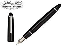 Sailor 1911 Large Simply Black Pen Fountain Pen 21 KT Ringless