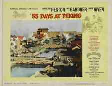 55 Days at Peking 05 Film A3 Box Canvas