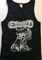 ENTOMBED Tank Top Death metal TANKTOP Carcass MORBID ANGEL DISMEMBER black S-XL