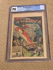 New ListingMiss America Comics 1 Cgc Pg Ow/White (Timely Comics 1944!)- Very Rare!