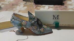 Haequin Shoe 1930 Style Ornament Metropolitan Museum of Art , Original Certified