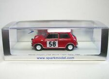MORRIS MINI COOPER no. 58 Rally Monte Carlo 1963