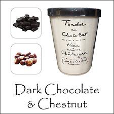 Luxe fondue au chocolat par AUX ANYSETIERS DU ROY-chocolat noir & marron