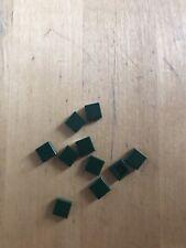 LEGO - TILE - DARK GREEN - 3070 - PACK OF 10