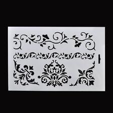 Flower Vine Crown Layering Stencil Scrapbooking Embossing Paper Card DIY Craft