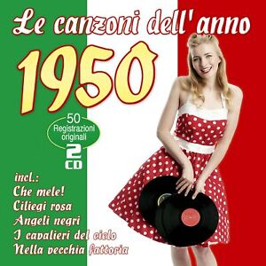 Various - Le Canzoni Dell'Anno 1950 CD *NEU*OVP*