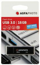 USB-Stick AgfaPhoto USB 3.0 BLACK 16gb NUOVO & OVP