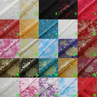Chinese Satin Brocade Dress / Costume / Curtains / Upholstery / DIY Fabric Home