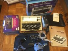 Radio Shack TRS-80 Model 100 Portable Computer, Excellent Working Condition