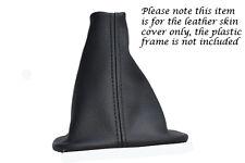 Se adapta a Citroen Xsara Picasso Cuero Negro Costura Cambio De Arranque Polaina gear