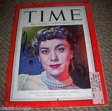 TIME MAGAZINE Patrice Munsel  Dec. 3, 1951