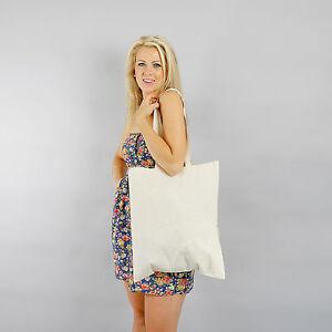 10 Plain Eco Premium Natural Cotton Calico Shopping Bag/Totes with,handles 42*38
