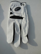 *SPICKLAUS MEN'S WHITE LEATHER GOLF GLOVES LEFT HAND SIZE LARGE