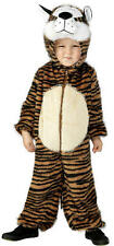 Age 4-6 Childrens Boys Girls Tiger Costume Animal Fancy Dress