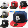Kids Boys Girls Adjustable Mickey Mouse Baseball Cap Snapback Hip-hop Sports Hat
