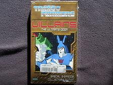 Transformers 2001 Villains: The Ultimate Doom VHS Hasbro Kid Rhino Clean Test