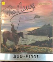 "LINDISFARNE THE NEWS 12"" VINYL LP ALBUM (+ LYRIC INNER) 9109 626 EX / VG"