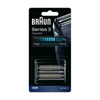 Genuine BRAUN Series 3 Cassette Foil & Cutter 32B Replacement Black Germany MoB
