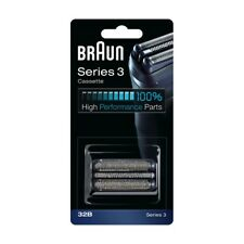 SALE Authentic BRAUN Series 3 Cassette Foil Cutter 32B Replacement Black Germany