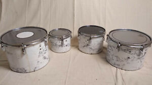 """4 Quad Toms / Marching Tenors - 8"""", 10"""", 12"""", 13"""""""