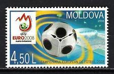 Moldavie 2008 Football Euro 2008 Yvert n° 537 neuf ** 1er choix