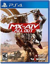 MX vs ATV All Out (Sony PlayStation 4, 2018) Brand New