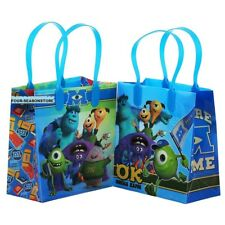 12pc Disney University Monster Goodies bag Favor Birthday Party Loot Gift Bags