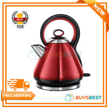 Russell Hobbs 1.7 L Legacy Quiet Boil Electric Kettle, 3000W In Red - 21885