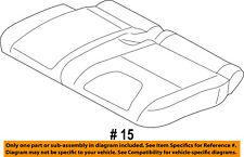 FORD OEM 13-16 Escape Rear Seat-Cushion Cover Left FJ5Z7863805AA