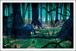 FOUND SOMEONE YOU HAVE STAR WARS TIM DOYLE SCREEN PRINT LIMITED EDITION MONDO